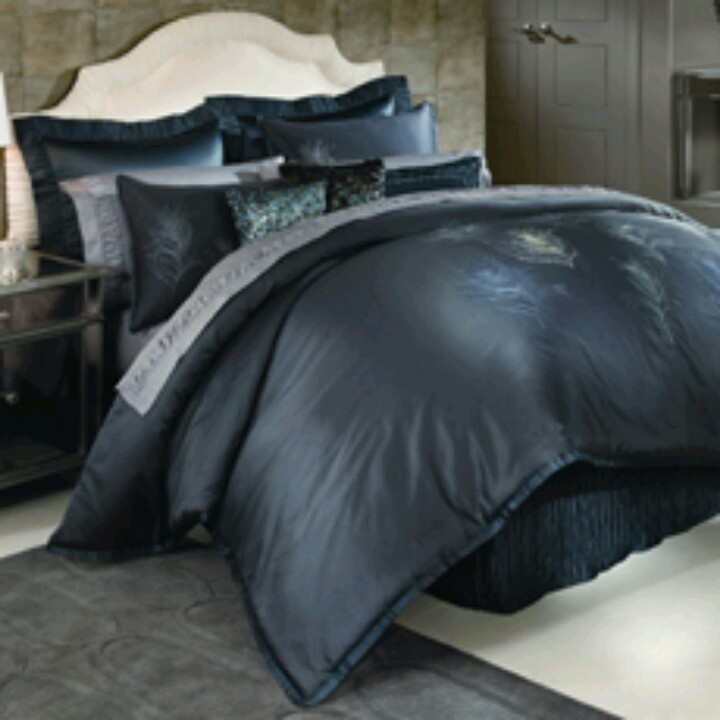 Nicole Miller Feathers bedding...love | Home Is Where I Belong With Y ...