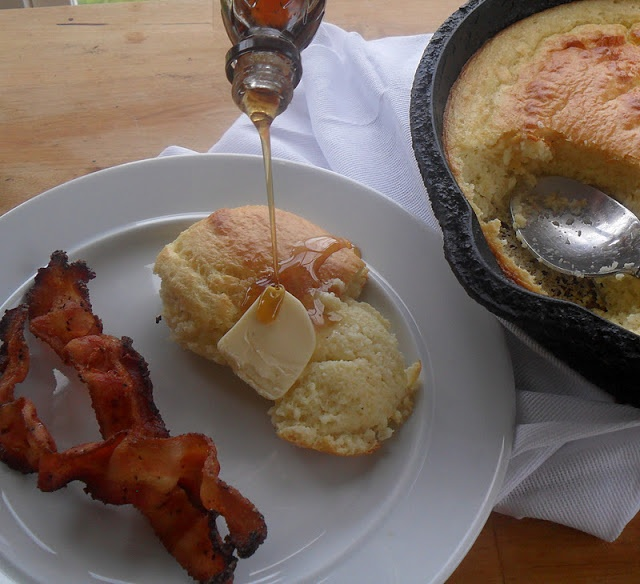 Perfect Southern Spoon Bread | A moment on the lips | Pinterest