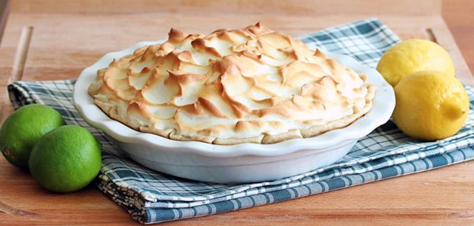 Lemon-Lime Meringue Pie | Recipe