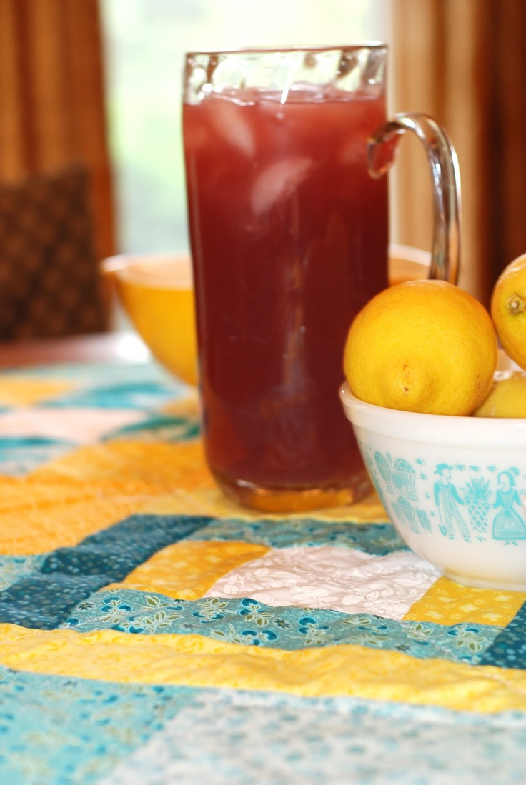 Blueberry lemonade | sewfullofsummer | Pinterest