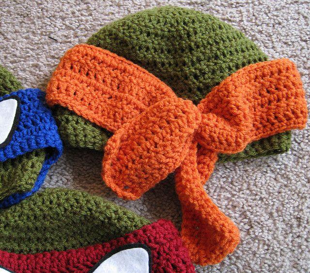 Crochet Ninja Turtle : Crochet Ninja Turtle
