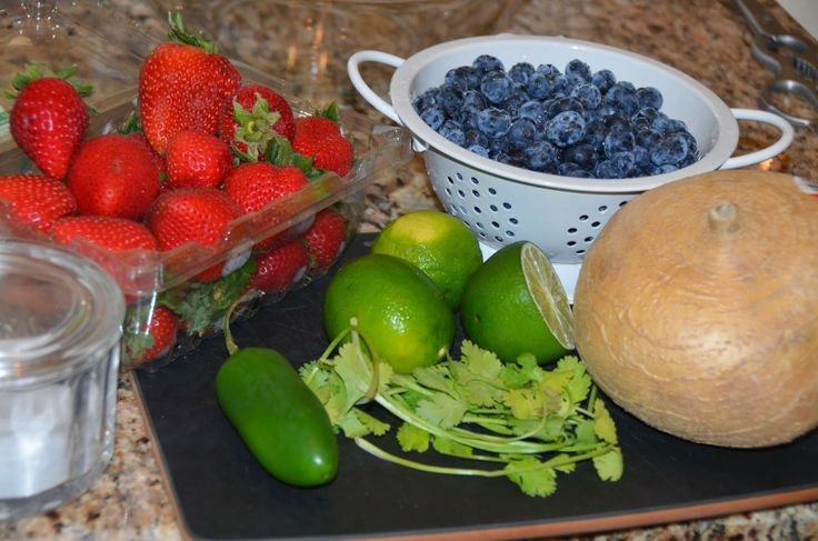 Blueberry, Strawberry and Jicama Salsa! Not just for chips! Read more ...