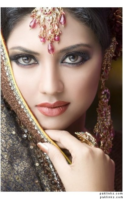 Beautiful Wedding Makeup Pictures : Beautiful! Wedding makeup Beauty Pinterest