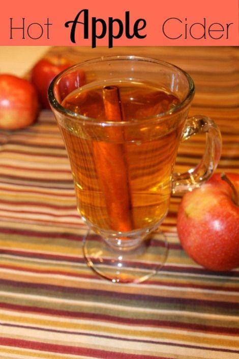 Easy-Hot-Apple-Cider | Beverages | Pinterest