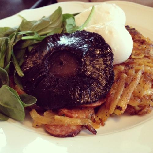 Chorizo hash browns | My London | Pinterest