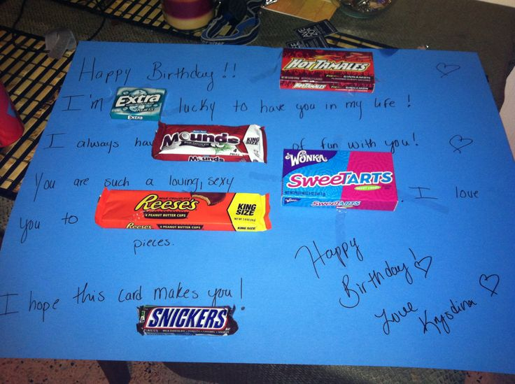 Birthday card for boyfriend  Party Ideas  Pinterest
