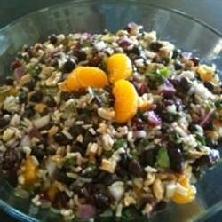 """Black Bean and Wild Rice Salad 