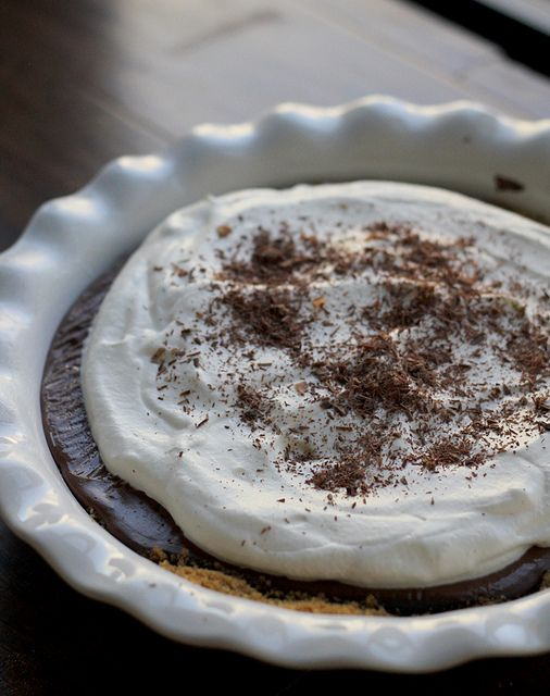 Chocolate Pudding Pie | Recipe