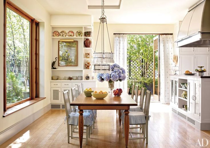 Bette Midler Shows off Her Manhattan Abode// french country style decor
