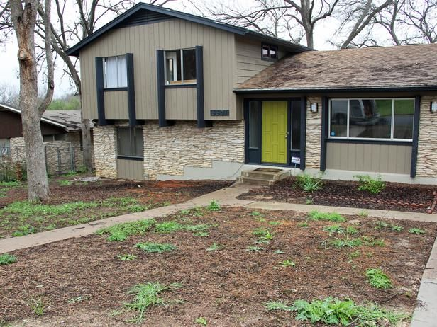 15 before and after curb appeal makeovers for 70 s ranch exterior makeover