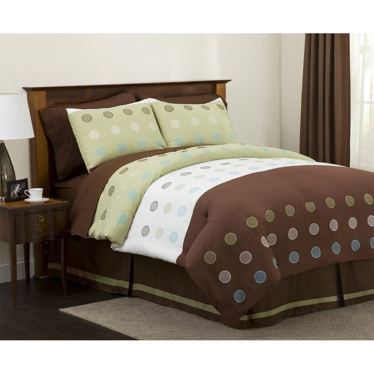 green and brown bedding brown and green pinterest
