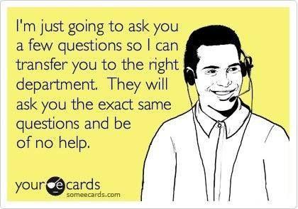 customer service lol