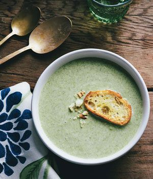 Fiddlehead Soup with Tarragon | Recipes I want to try! | Pinterest