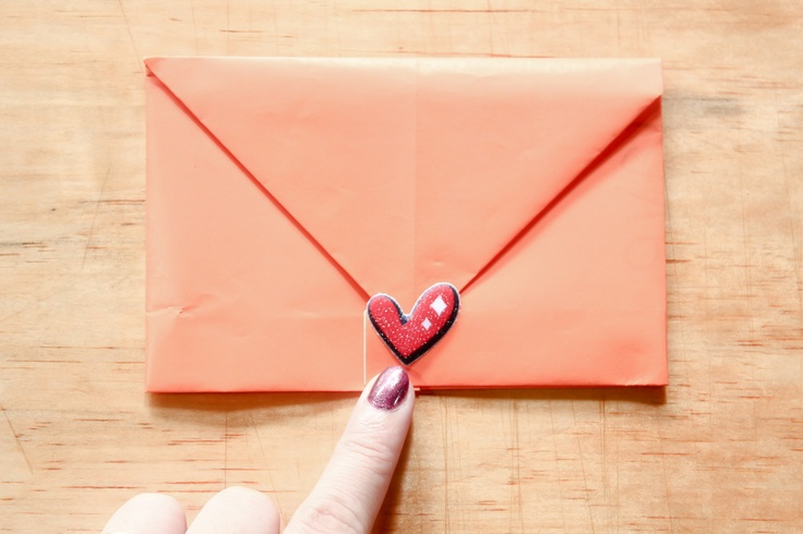 How To Make A Note Into An Envelope