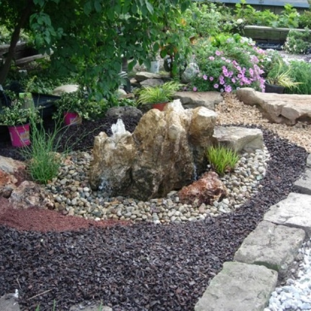 Rock Water Feature Water Features And Bog Filters