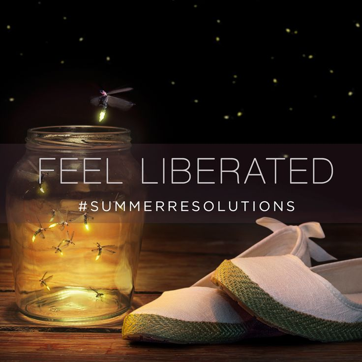 Disconnect to reconnect. #FeelLiberated #SummerResolutions