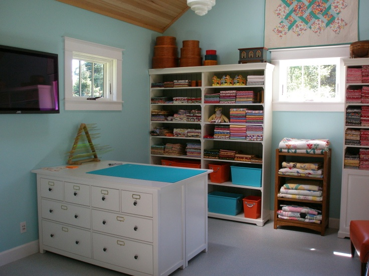 Ikea Liatorp Cabinets Sewing Room Ideas Pinterest