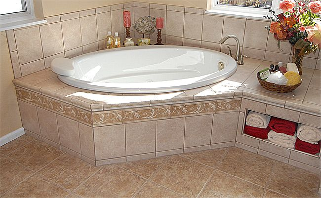 Big bathtub for the corner for the home pinterest Bathroom ideas with jetted tubs