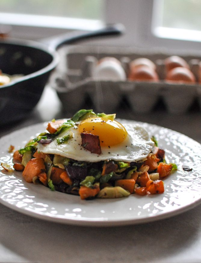Brussels Sprouts Breakfast Hash | Recipe