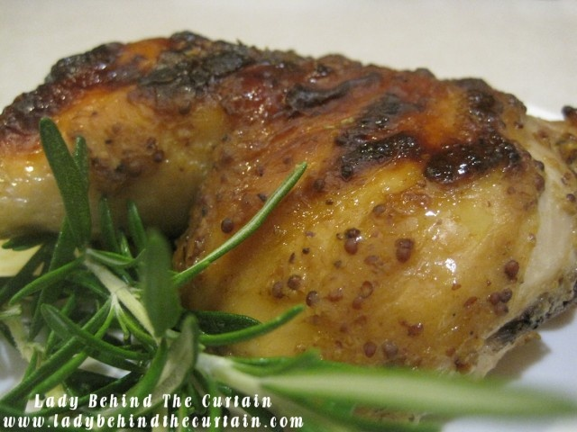 Mustard Chicken | Lady Behind the Curtain - NOT BAD BUT WILL USE LESS ...