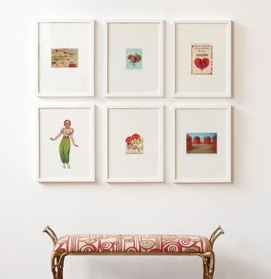 pin belle maison art wall inspiration diy on pinterest. Black Bedroom Furniture Sets. Home Design Ideas