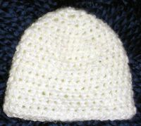 crochet preemie hat crochet: preemie/ free Pinterest