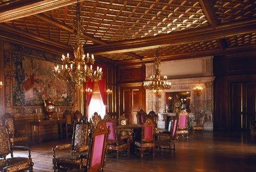 The grand salon in the chateau de pau j 39 adore chateaux for Chateau de menetou salon