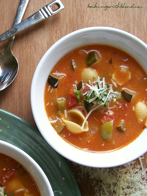 Ratatouille Soup - loved the movie? The soup is even better :)