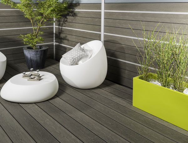 Terrasse bois composite  Home design  Pinterest