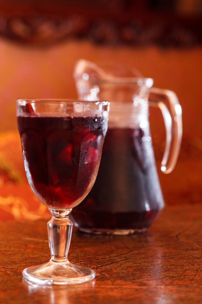 Apple Cider Sangria | Tips From Town | Favorite Recipes | Pinterest