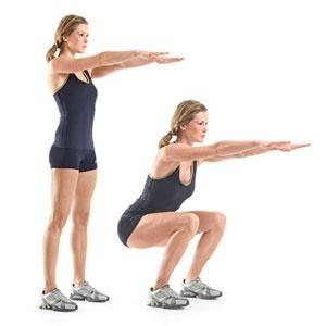 Squat: Body-Weight Squat - @Womens Health Magazine fitness perfect-body