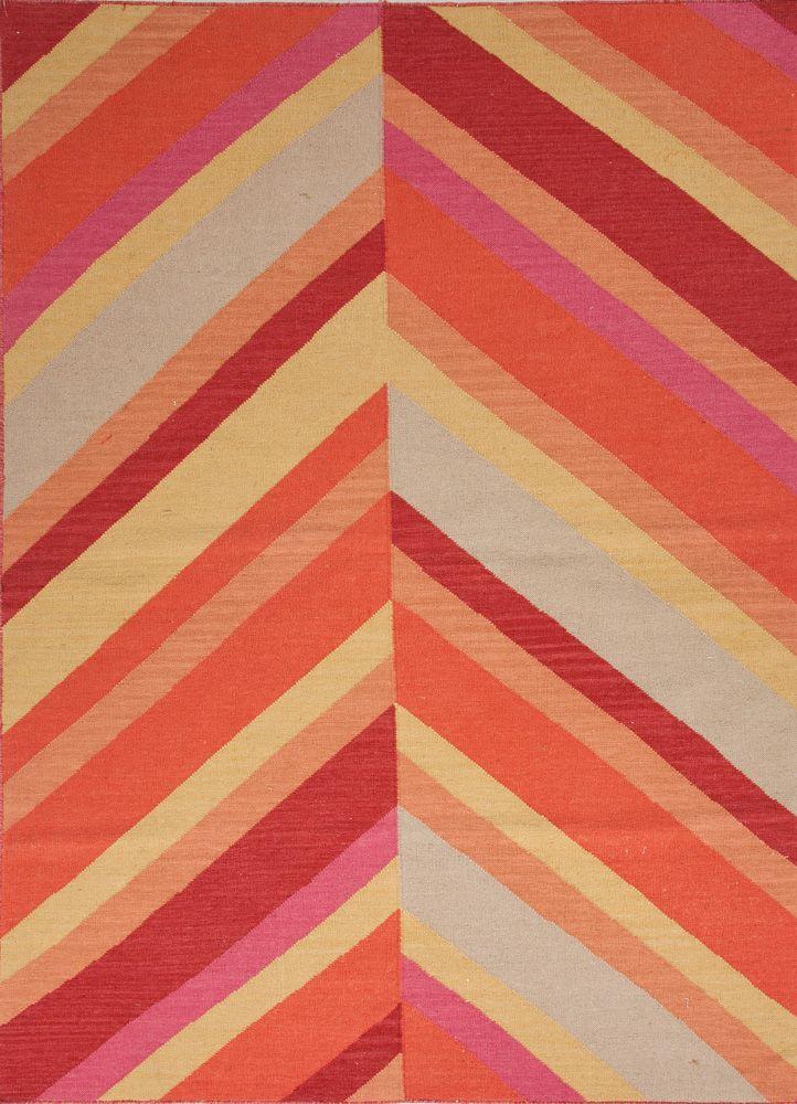 Eclipse Rug Pink Orange Yellow Rug Textile Love