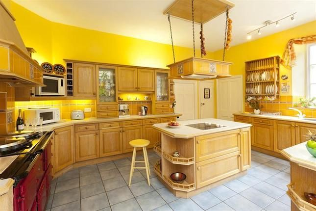 yellow country kitchen for the home pinterest