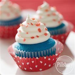 Firecracker #Cupcakes from Pillsbury® Baking