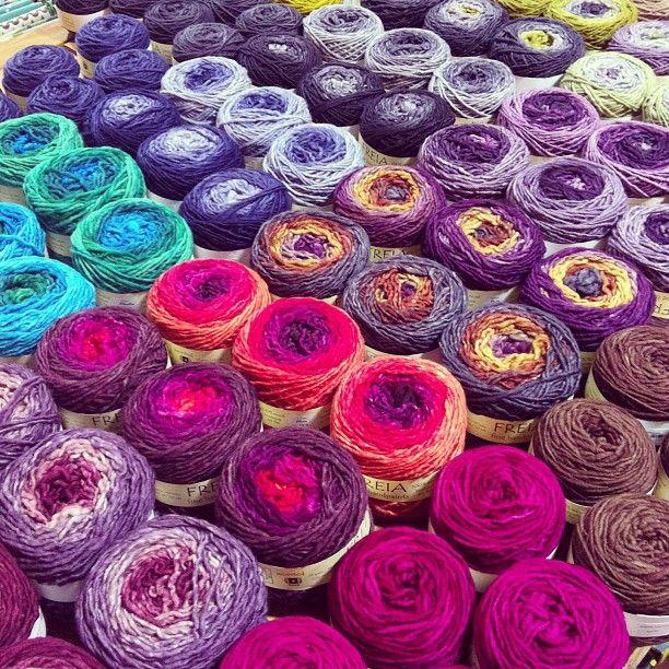 Crocheting Verb : Verb for Keeping Warm - freia fibers Yarn Pinterest