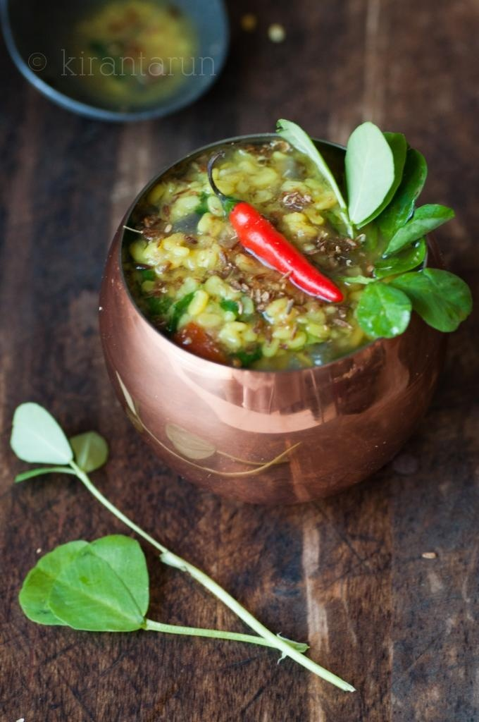 Methi Dal (Lentil Soup With Fenugreek) Recipe — Dishmaps