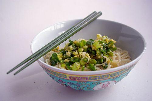 "Momofuku Noodle Bar's Ginger Scallion Noodles. ""Chewy ramen noodles ..."