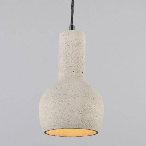 Hanglamp Concrete 1 grijs - Keukenverlichting - Verlichting per ruimte ...