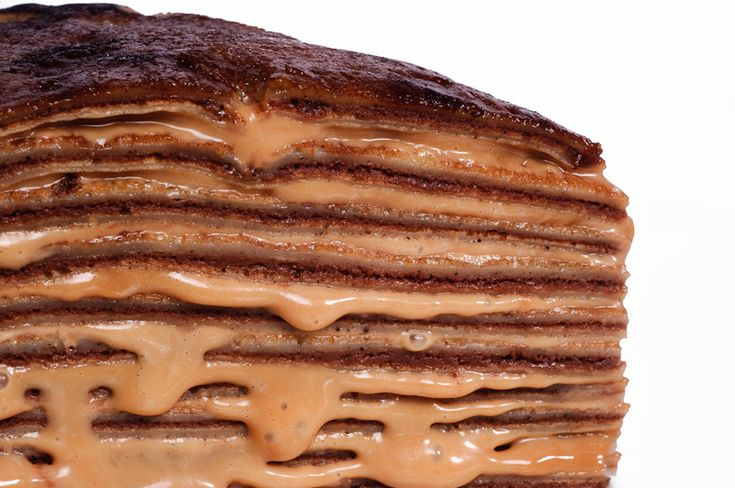 Gateau de Crepes with Chocolate Pastry Cream and Dulce De Leche (http ...