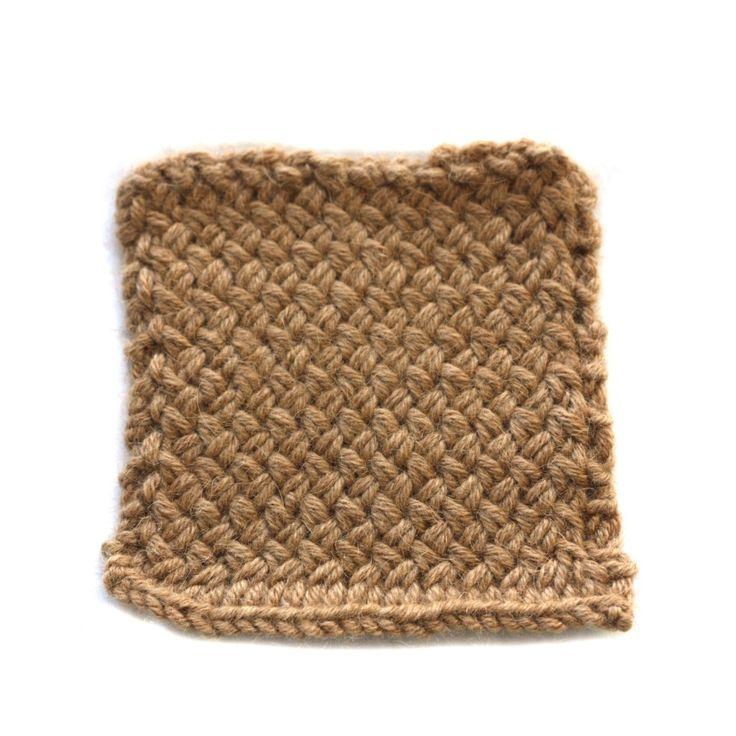 Wicker Stitch   Knit Pattern