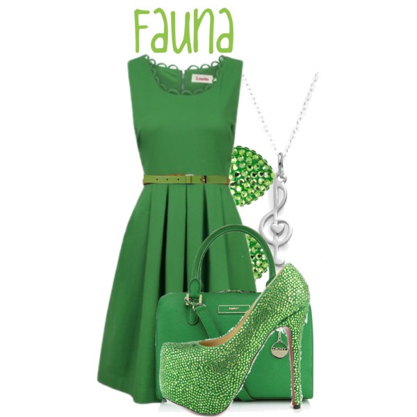 """Fauna"" by jami1990 on Polyvore"