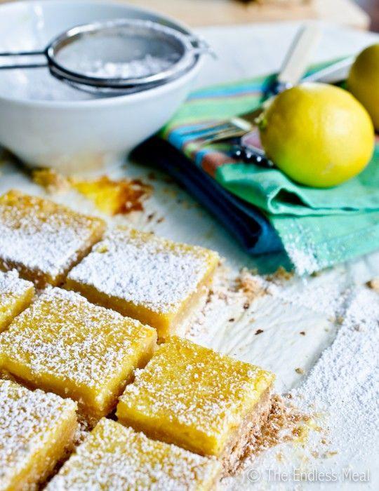 Lemon Coconut Bars | Master Baker | Pinterest