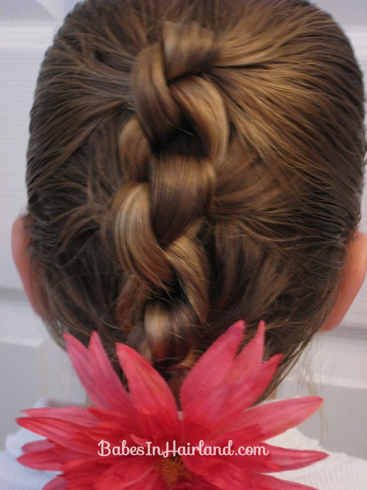 Row of Knots Hairstyle Hair Style Ideas Pinterest