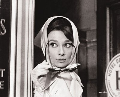 Audrey Hepburn in Charade (1963)