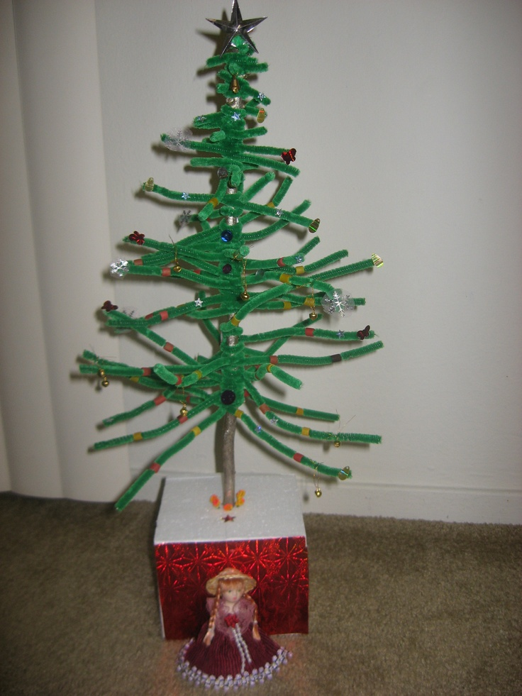 Cleaner christmas tree school projects and craft ideas pint