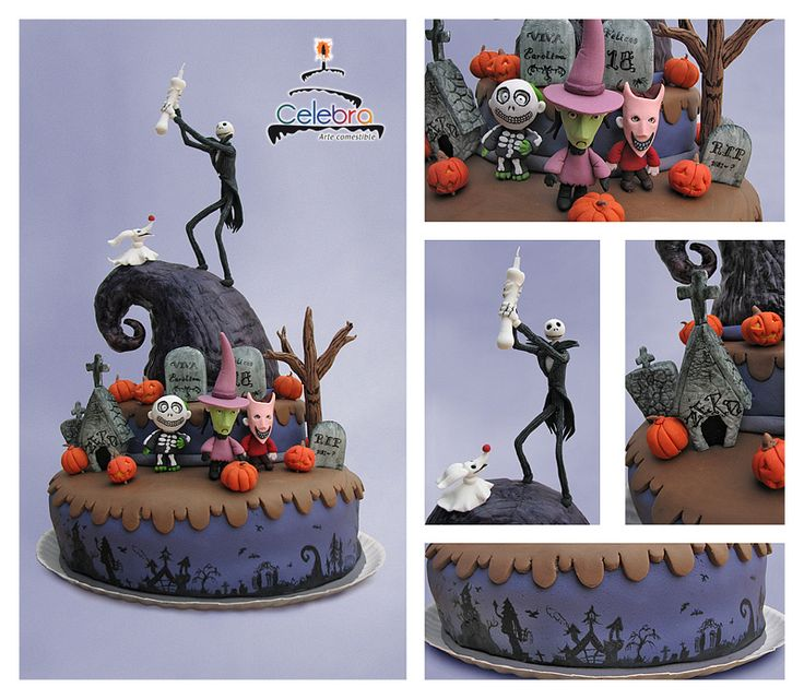Nightmare before Christmas cake! | Ochs (Uggs) and Reeves | Pinterest