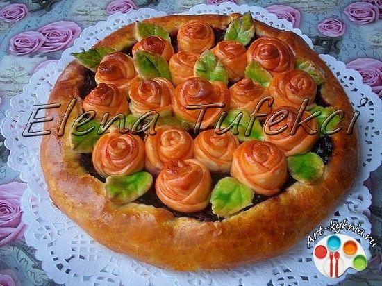 Рецепты праздничных дрожжевых пирогов с