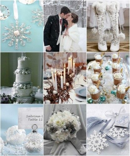 Winter Wedding Ideas from hotref.com