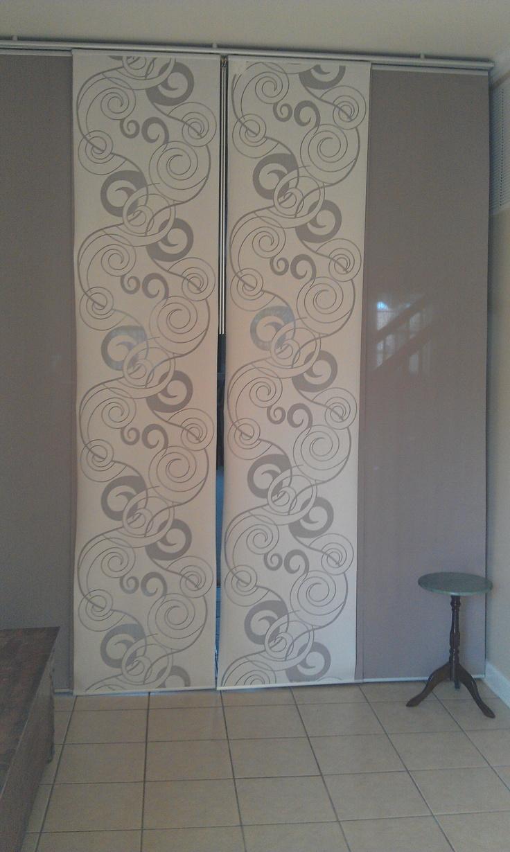 sliding curtain panel home design 2017