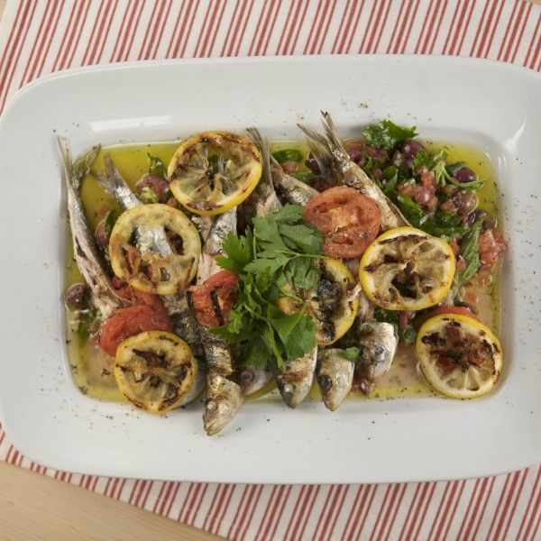 Grilled Sardines, Portuguese-style | Recipe